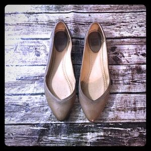 Frye Pointed Toe Flat